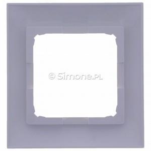 Simon 54 DR1/11 - Ramka pojedyncza - Biały - Podgląd zdjęcia 360st. nr 9