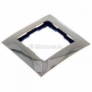 Simon 54 DR1/66 - Ramka pojedyncza wykonana z metalu - Złoto - Podgląd zdjęcia 360st. nr 7