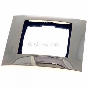 Simon 54 DR1/66 - Ramka pojedyncza wykonana z metalu - Złoto - Podgląd zdjęcia 360st. nr 6