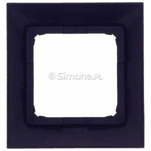 Simon 54 DRK1/48 - Ramka pojedyncza do puszek kartonowo-gipsowych - Antracyt - Podgląd zdjęcia 360st. nr 9