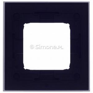 Simon 54 DRN1/77 - Ramka pojedyncza Nature Metal - Inox Klasyczny - Podgląd zdjęcia 360st. nr 9