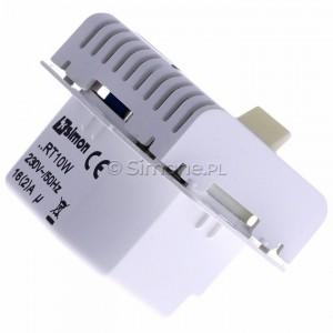 Simon 54 DRT10W.02/11 - Regulator temperatury z czujnikiem wewnętrznym - Biały - Podgląd zdjęcia 360st. nr 3