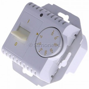 Simon 54 DRT10W.02/11 - Regulator temperatury z czujnikiem wewnętrznym - Biały - Podgląd zdjęcia 360st. nr 7
