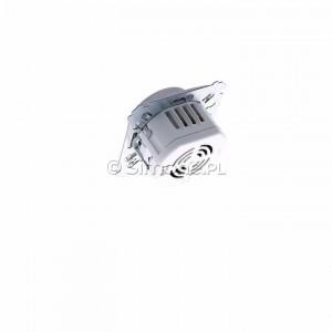 Simon 54 DS9L.01/43 - Ściemniacz naciskowo-obrotowy do LED - Srebrny Mat - Podgląd zdjęcia 360st. nr 5