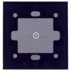 Simon 54 DSTR11/71 - Panel Simon Touch Szkło 1-Modułowy z jednym polem dotykowym, Współpracuje z ST1M lub ST1S - Srebrna Mgła - Podgląd zdjęcia 360st. nr 9