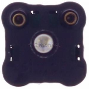 Simon 54 DUL - Układ podświetlenia LED do Łączników i przycisków w kolorze niebieskim 230V AC - Podgląd zdjęcia 360st. nr 9