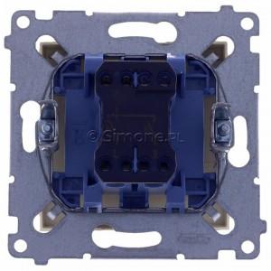 Simon 54 DZP1A.01/41 - Przycisk żaluzjowy, impulsowy 16A - Kremowy - Podgląd zdjęcia 360st. nr 9