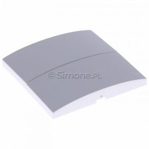 Simon Classic MKW5/11 - Klawisz podwójny do wyłącznika podwójnego - Biały - Podgląd zdjęcia 360st. nr 3