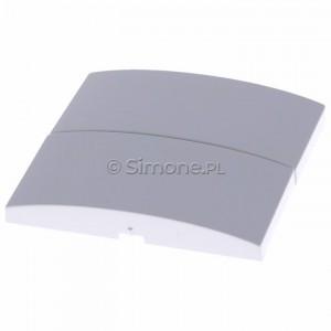 Simon Classic MKW5/11 - Klawisz podwójny do wyłącznika podwójnego - Biały - Podgląd zdjęcia 360st. nr 2