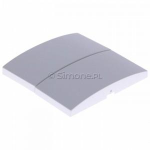 Simon Classic MKW5/11 - Klawisz podwójny do wyłącznika podwójnego - Biały - Podgląd zdjęcia 360st. nr 7