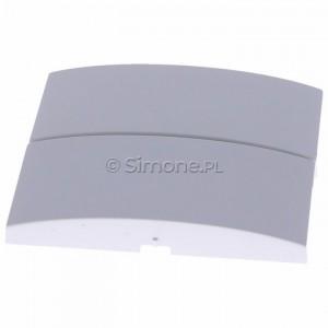 Simon Classic MKW5/11 - Klawisz podwójny do wyłącznika podwójnego - Biały - Podgląd zdjęcia 360st. nr 6