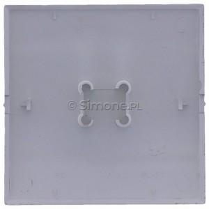 Simon Classic MKW7/26 - Klawisz pojedynczy do wyłącznika krzyżowego - Aluminiowy Met. - Podgląd zdjęcia 360st. nr 9