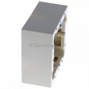 Simon Basic PSC/12 - Puszka instalacyjna pojedyncza naścienna głęboka - Beżowy - Podgląd zdjęcia 360st. nr 2