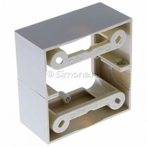 Simon Basic PSC/12 - Puszka instalacyjna pojedyncza naścienna głęboka - Beżowy - Podgląd zdjęcia 360st. nr 5