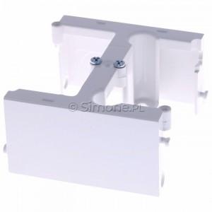Simon Basic PSH/11 - Element rozszerzający do puszki PSC do ramek wielokrotnych - Biały - Podgląd zdjęcia 360st. nr 2