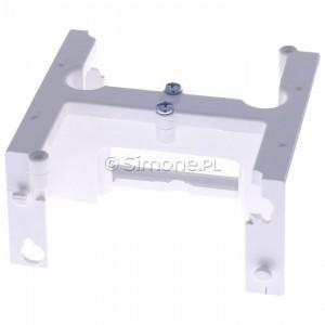 Simon Basic PSH/11 - Element rozszerzający do puszki PSC do ramek wielokrotnych - Biały - Podgląd zdjęcia 360st. nr 4