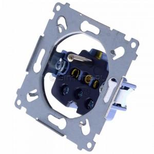 Simon 54 SGZ1M - Mechanizm gniazda pojedynczego z uziemieniem 16A (zaciski śrubowe) - Mechanizmy - Podgląd zdjęcia 360st. nr 7