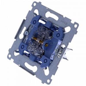Simon 54 SP2M - Mechanizm przycisku zwiernego podwójnego 10A (do kompletu należy dokupić rameczkę oraz klawisze) - Mechanizmy - Podgląd zdjęcia 360st. nr 7