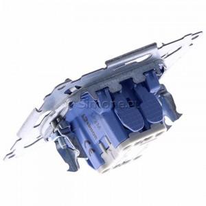 Simon 54 SP2M - Mechanizm przycisku zwiernego podwójnego 10A (do kompletu należy dokupić rameczkę oraz klawisze) - Mechanizmy - Podgląd zdjęcia 360st. nr 5