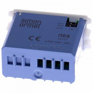 Simon 54 ST1M - Przycisk pojedynczy lub schodowy/krzyżowy we współpracy z ST1S - Podgląd zdjęcia 360st. nr 4
