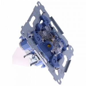 Simon 54 SW7M - Mechanizm łącznika krzyżowego pojedynczego 10A (do kompletu należy dokupić rameczkę oraz klawisz) - Mechanizmy - Podgląd zdjęcia 360st. nr 2