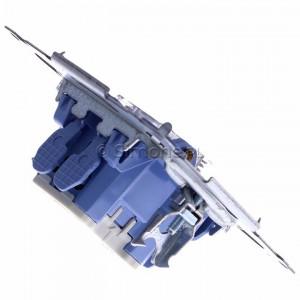 Simon 54 SZP1M - Mechanizm przycisku żaluzjowego dwuklawiszowego 10A (do kompletu należy dokupić rameczkę oraz klawisze) - Mechanizmy - Podgląd zdjęcia 360st. nr 3