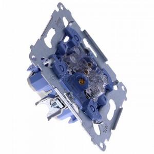 Simon 54 SZP1M - Mechanizm przycisku żaluzjowego dwuklawiszowego 10A (do kompletu należy dokupić rameczkę oraz klawisze) - Mechanizmy - Podgląd zdjęcia 360st. nr 2