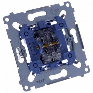 Simon 54 SZP1M - Mechanizm przycisku żaluzjowego dwuklawiszowego 10A (do kompletu należy dokupić rameczkę oraz klawisze) - Mechanizmy - Podgląd zdjęcia 360st. nr 1