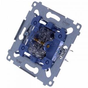 Simon 54 SZP1M - Mechanizm przycisku żaluzjowego dwuklawiszowego 10A (do kompletu należy dokupić rameczkę oraz klawisze) - Mechanizmy - Podgląd zdjęcia 360st. nr 7