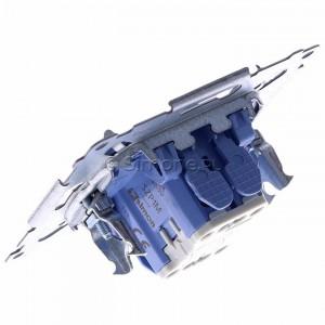 Simon 54 SZP1M - Mechanizm przycisku żaluzjowego dwuklawiszowego 10A (do kompletu należy dokupić rameczkę oraz klawisze) - Mechanizmy - Podgląd zdjęcia 360st. nr 5