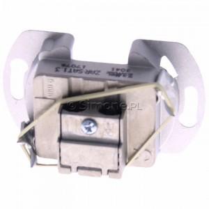 Simon Classic ZAR-SAT1.3/1 - Mechanizm gniazda antenowego RTV-SAT końcowego 1,5db - Podgląd zdjęcia 360st. nr 4