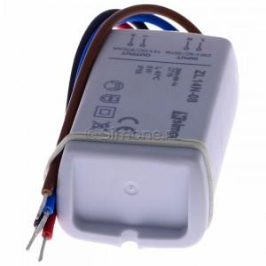Simon 54 ZL14N-08 - Zasilacz LED natynkowy 14V, DC, 8W - Podgląd zdjęcia 360st. nr 6