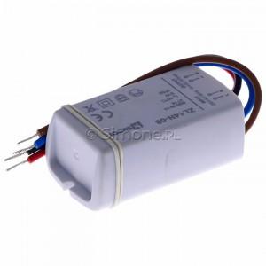 Simon 54 ZL14N-08 - Zasilacz LED natynkowy 14V, DC, 8W - Podgląd zdjęcia 360st. nr 5