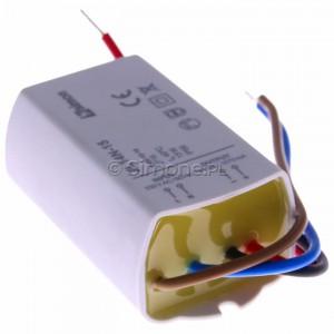 Simon 54 ZL14N-15 - Zasilacz LED natynkowy 14V, DC, 15W - Podgląd zdjęcia 360st. nr 3