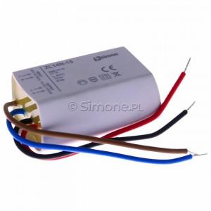 Simon 54 ZL14N-15 - Zasilacz LED natynkowy 14V, DC, 15W - Podgląd zdjęcia 360st. nr 1