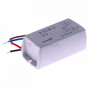 Simon 54 ZL14N-15 - Zasilacz LED natynkowy 14V, DC, 15W - Podgląd zdjęcia 360st. nr 5
