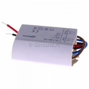 Simon 54 ZL14N-15 - Zasilacz LED natynkowy 14V, DC, 15W - Podgląd zdjęcia 360st. nr 4