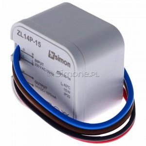 Simon 54 ZL14P-15 - Zasilacz LED dopuszkowy 14V, DC, 15W - Podgląd zdjęcia 360st. nr 7