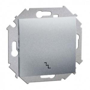 Simon 15 1591201B-026 - Łącznik schodowy zmienny do wersji IP44 - Aluminium - Podgląd zdjęcia nr 1