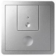 Simon 82 82007-93 - Klawisze do produktów eletronicznych dwuklawiszowych  aluminium - Podgląd zdjęcia nr 1