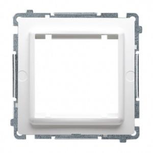 Simon Basic BMA45M/11 - Adapter na osprzęt standardu 45x45mm - Biały - Podgląd zdjęcia nr 1