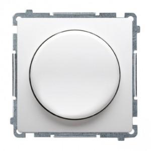 Simon Basic BMS9L.01/11 - Ściemniacz naciskowo-obrotowy do LED - Biały - Podgląd zdjęcia nr 1