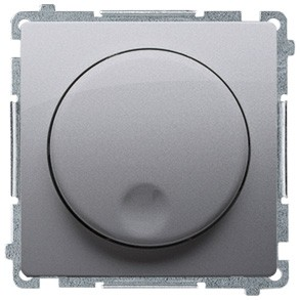 Simon Basic BMS9V.01/21 - Regulator światła 1-10V - Inox Met. - Podgląd zdjęcia nr 1