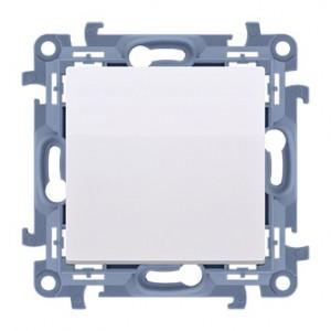 Simon 10 CP1.01/11 - Przycisk pojedynczy zwierny 10A - Biały - Podgląd zdjęcia nr 1