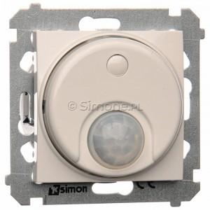 Simon 54 DCR10P.01/11 - Łącznik z czujnikiem ruchu z możliwością manualnego załączenia - Biały - Podgląd zdjęcia nr 1