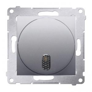 Simon 54 DDS1.01/43 - Dzwonek elektroniczny - Srebrny Mat - Podgląd zdjęcia nr 1
