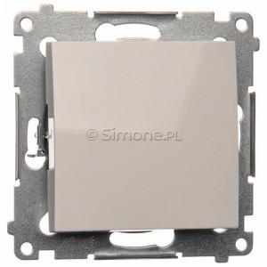 Simon 54 DPR1.01/11 - Przycisk rozwierny pojedynczy - Biały - Podgląd zdjęcia nr 1