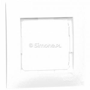 Simon 54 DR1/11 - Ramka pojedyncza - Biały - Podgląd zdjęcia nr 1