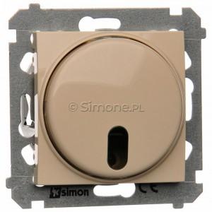 Simon 54 DS13T.01/41 - Ściemniacz zdalnie sterowany 20-500W - Kremowy - Podgląd zdjęcia nr 1