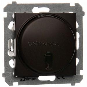 Simon 54 DS13T.01/46 - Ściemniacz zdalnie sterowany 20-500W - Brąz Mat - Podgląd zdjęcia nr 1